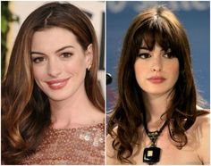 15 Shocking Pics Of Stars Before After Bangs Hair And Makeup And