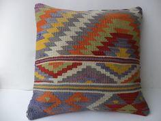 "kilim pillow 20""x20"" Feet 50x50 Cm"