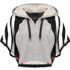 adidas Originals Hoodie grey/black/pink ❤ liked on Polyvore featuring tops, hoodies, grey top, adidas originals hoodie, sweatshirt hoodies, gray hoodies and adidas originals hoodies