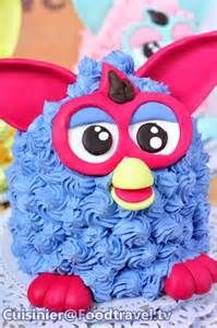 เฟอร์บี้เค้ก Furby Cake  FoodTraveltv