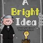 Mini-book, timeline, vocab. posters, and flip books to teach about Thomas Edison!