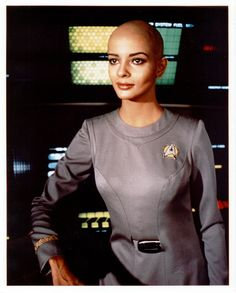 Lt. Ilia ~  A native of Delta IV once in relationship with Decker - abducted by Voyager probe.
