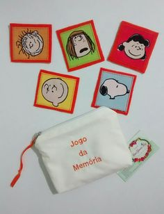 Jogo da memória, turma do Snoopy #ateliejanagarciarey #jogodamemoriaturmadosnnopy