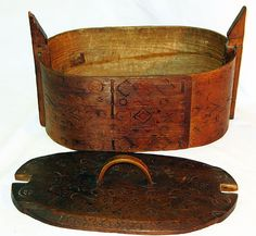 Antique Tine box used for carrying items