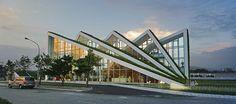 El conjunto Hualien es un proyecto utópico que busca la intersección perfecta entre la naturaleza y el entorno construido. Los edificios se deforman dependiendo de la vista, de las montañas y el mar, como un reflejo del paisaje montañoso. El...