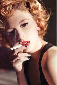 Celebrity smoking fetish very valuable