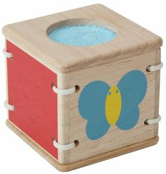 PlanToys Baby First's Block - Touch
