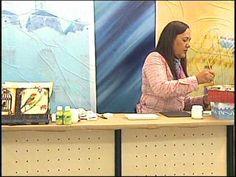 ▶ Tania Islas 13/07/12 aula de artesanato parte 2 - YouTube