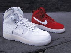 NIKE XXX ANNIVERSARY AF1 HIGH DUCKBOOT QS Af1 High, Fashion Shoes, Men's Fashion, Basket Nike, Nike Boots, Sneaker Games, Nike Af1, Duck Boots, Nike Sneakers