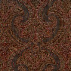 Hera Onyx by Kasmir Brocade Fabric, Swatch, Free Shipping, Patterns, Decor, Art, Block Prints, Art Background, Decoration