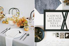 Artistic + Minimal Wedding Inspiration – The White Wren Bentwood Chairs, Minimal Wedding, Vintage Stamps, Glass Slipper, Reception Table, Wren, Bridal Looks, Winter White, Yellow Flowers