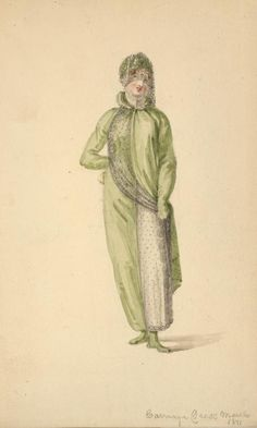 Carriage dress, March 1811