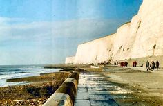 The Famous Undercliff past Saltdean and Rottingdean