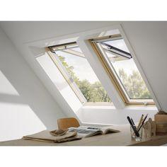 Fenêtre de toit VELUX GPL SK06 Standard, ouverture par projection, 118x114cm 422,23€