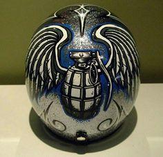 custom paint helmets