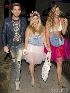 Adam Lambert Is All Smiles After A Party At The Vaucluse Bar