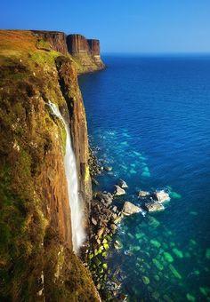Kilt Rock & Mealt Waterfall, Isle of Skye, Scotland