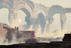 ArtStation - Forgotten temple, Damian Audino