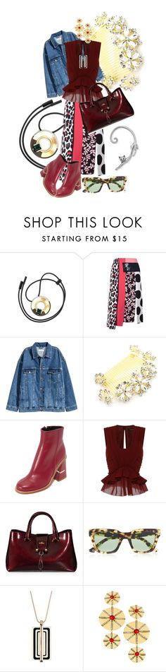 """""""Burgundy"""" by rita257 ❤ liked on Polyvore featuring Marni, MSGM, TIBI, Isabel Marant, Hogan, Gucci, Vince Camuto and Andara"""