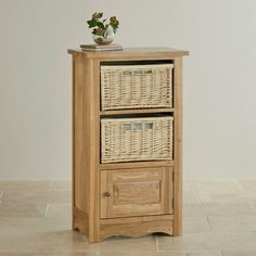 The Cairo Natural Solid Oak Storage Unit provides great extra storage in any room in the home.