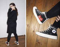 a9f0b43a030 (High Top) x Converse Chuck Taylor® - Hidden Heart COMME DES GARÇONS PLAY