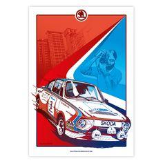 Skoda Auto posters by Petr Belák, via Behance