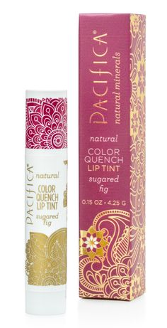 Color Quench Lip Tint - Sugared Fig.  I love EVERY ONE of these... (I think I might even have every one of these).