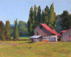 Valley Summer by Susan Ogilvie Pastel ~ 16 x 20