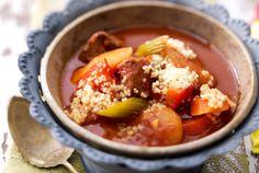 Unser beliebtes Rezept für Marokkanische Gemüsesuppe mit Couscous und mehr als 55.000 weitere kostenlose Rezepte auf LECKER.de.