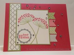 Card using Banner Blast from the Stampin' Up! 2014 SAB catalog and Summer Silhouettes by Emily Mark SU demo Greenfield Park, Quebec www.southshorestamping.com - AW12, NAC78