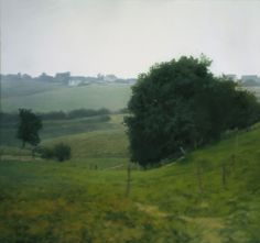 Gerhard Richter - Meadowland---I have a passion for landscape paintings, as well. This painting is somehow haunting and mysterious to me, but also beautiful. Landscape Art, Landscape Paintings, Landscape Photography, Art Photography, Moma, Gerhard Richter Painting, Art Gallery, Joan Mitchell, Camille Pissarro