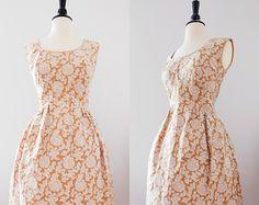 vintage des années 1950 Wiggle Dress avec par LuxVintageApparel