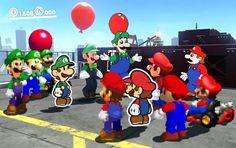 this is it, luigi luigi luigi luigi luigi luigi Super Mario Bros, Super Mario Memes, Super Smash Bros Memes, Super Mario World, Geeks, Mario Comics, Mario Y Luigi, Mario Brothers, Funny Games