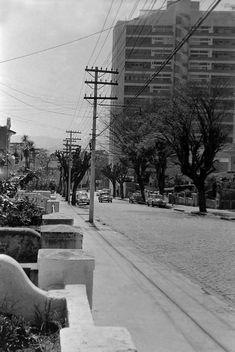 Década de 60 - Rua Ministro de Godói no bairro de Perdizes.