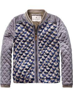 Silky Jacket | Inbetween jackets | Girls Clothing at Scotch & Soda