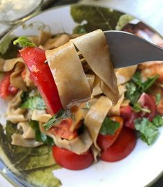 Homemade Eggless Sourdough Pasta – The Zero-Waste Chef
