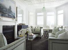 classic living room design by Denai Kulcsar Interiors