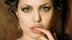 Apple Wallpapers Angelina Jolie Artistic On Mac Background