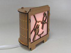 Chickadee Lamp Night Light by robwhitmore on Etsy