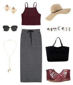 """""""#3 Summer Lake Outfit"""" by itsmee-lisa on Polyvore featuring Mode, WithChic, Aéropostale, ONLY, Coal, Valentino, Bølo, Fendi und Steve Madden"""