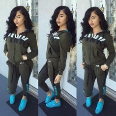 Letter Print Tracksuit with Long Sleeves