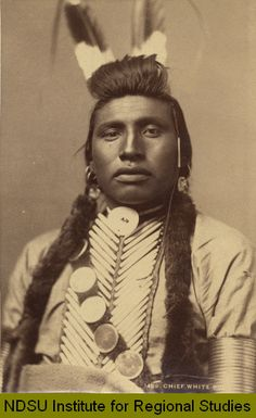 Chief White Bull of the Sioux Tribe was born in A cousin of Sitting Bull, he is thought to have killed General Custer.