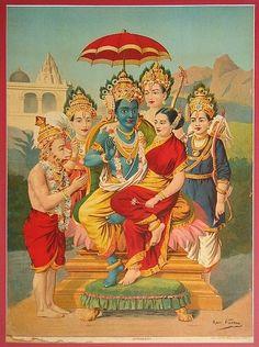 {Ramapanchayan, Raja Ravi Varma}