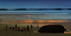 Port waikato Beach 2 by Janet Keen Photographer Beach Scenes, New Zealand, Mosaic, Sunset, Creative, Artist, Artwork, Photography, Painting
