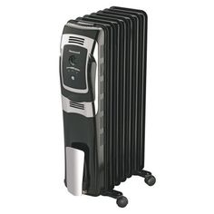 250 Sq Ft Coverage 1500W Oil Heater with Remote Radiator Heater Electric Spa