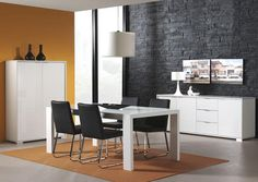 13 white dining room decoration