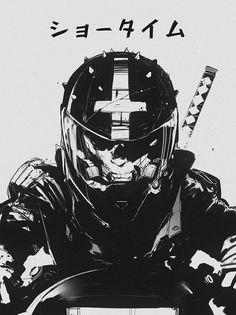 Mercenary Garage: Showtime  Image by Maciej Kuciara   #MaciejKuciara #Showtime #Mercenary #MercenaryGarage