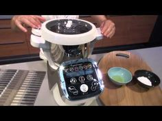 Recette sorbets maison pas à pas - Cuisine Companion Moulinex - YouTube Cooking Light Recipes, Cooking Chef, Kitchenaid, Cooking Classes Nyc, Thermomix Desserts, Ganache, Sorbets, Ricotta, Tasty