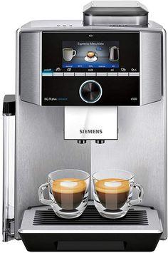 Siemens Espresso/Kaffee-Vollautomat TI 9575 X 9 DE plus connect Coffee And Espresso Maker, Cappuccino Maker, Cappuccino Machine, Coffee Maker, Coffee Machine Price, Jura Coffee Machine, Coffee Machines, Machine A Cafe Expresso, Best Espresso Machine
