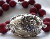 Necklace Sterling silver Chrysanthemum Bloom